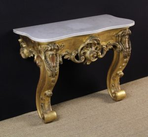 19th Century Carved Giltwood Console | Fine Furniture