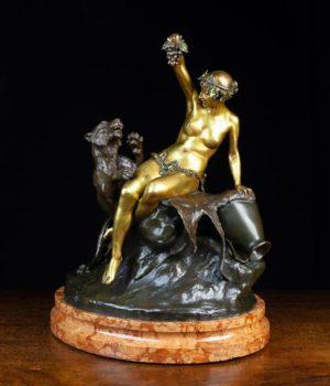 19th Century Bronze Figure Group | Fine Furniture