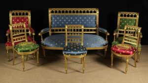 Giltwood Salon Suite | Fine Furniture