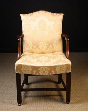 George III Mahogany Armchair | Fine Furniture