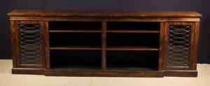 Regency Rosewood Side Cabinet | Fine Furniture