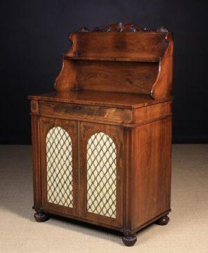 Regency Rosewood Chiffonier | Fine Furniture