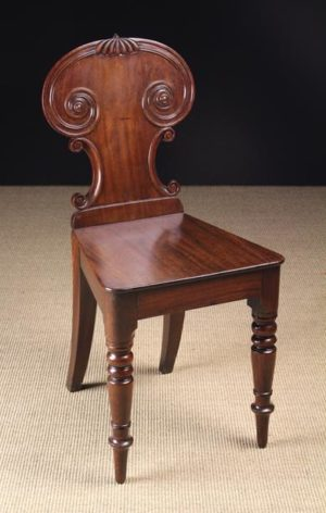 Regency Mahogany Hall Chair | Fine Furniture