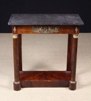 French Empire Mahogany Console Table | Fine Furniture