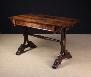 William IV Rosewood Centre Table | Fine Furniture