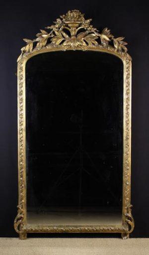 Gilt Gesso-work Pier Mirror | Fine Furniture