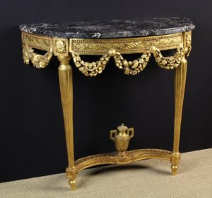 Carved Giltwood Console Table | Fine Furniture