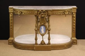 Gilded Gesso-work Console Table | Fine Furniture
