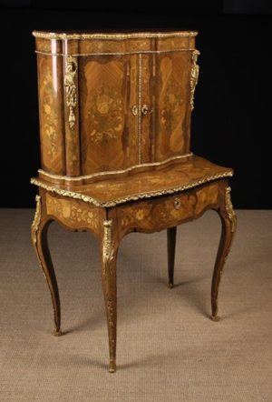 Marquetry Writing Cabinet | Fine Furniture