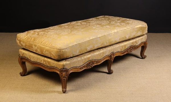 Long 19th Century Louis XV Style Foot Stool