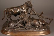 Lot 144 | Fine Furniture, Paintings, Bronzes & Effects | Wilkinson's Auctioneers