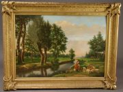 Lot 335 | Fine Furniture, Paintings, Bronzes & Effects | Wilkinson's Auctioneers
