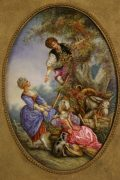 Lot 34 | Fine Furniture, Paintings, Bronzes & Effects | Wilkinson's Auctioneers