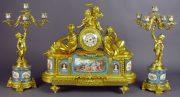 Lot 197 | Fine Furniture, Clocks, Bronzes & Effects | Wilkinson's Auctioneers