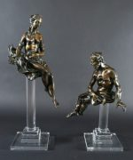 Lot 14 | Fine Furniture, Paintings, Bronzes & Effects | Wilkinson's Auctioneers