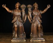 Lot 271   Period Oak, Carvings, Paintings, Country Furniture and Effects   Wilkinson's Auctioneers